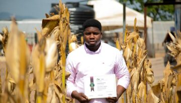 AWARDS OF CERTIFICATE FOR THE TRAINING ASPECT OF THE FARMERS